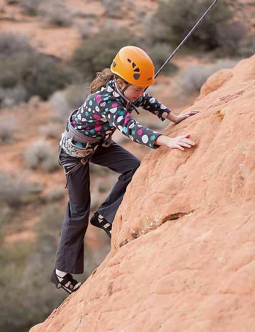 Zion Family Rock Climbing Trip