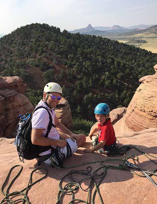 Zion Family Rock Climbing Trips | Lambs Knoll
