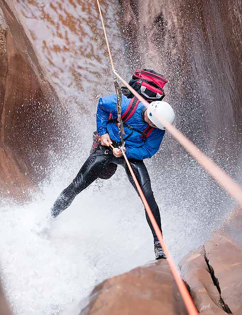 Water Canyon | High Adventure Canyoneering Trip Zion