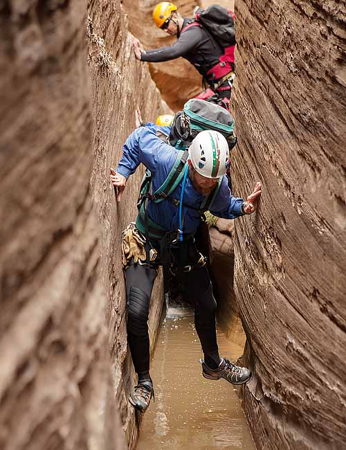 Guided Canyoneering Trips Zion National Park | Narrow Slot Canyons