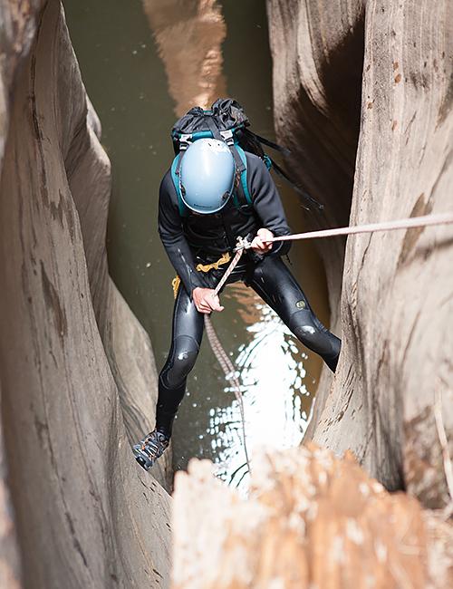 Imlay Canyon   Zion National Park Canyoneering