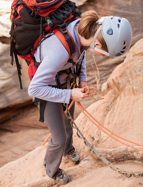 Water Canyon Rappelling | Zion National Park