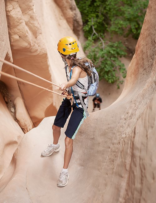 Zion Half Day Canyoneering Trips | Yankee Doodle