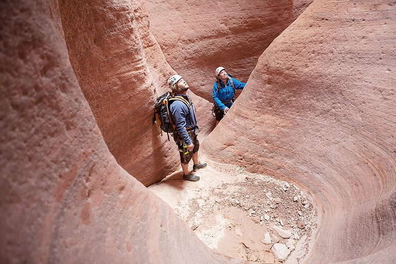 Half Day Canyoneering Trip to Red Caves | Zion Adventure Trips