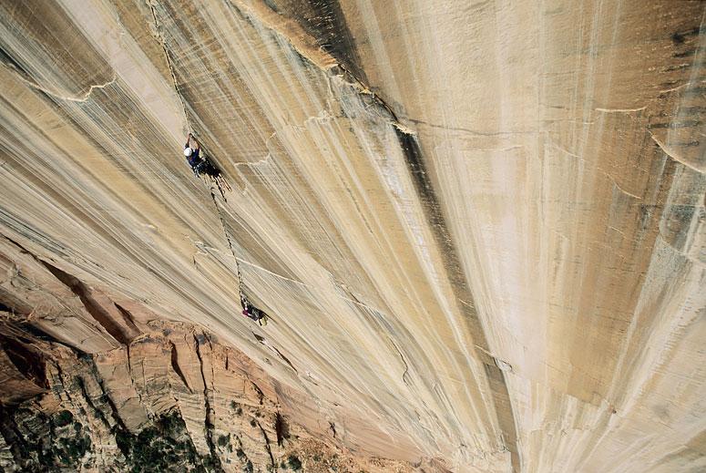 Bigwall Rock Climbing, Streaked Wall | Zion National Park