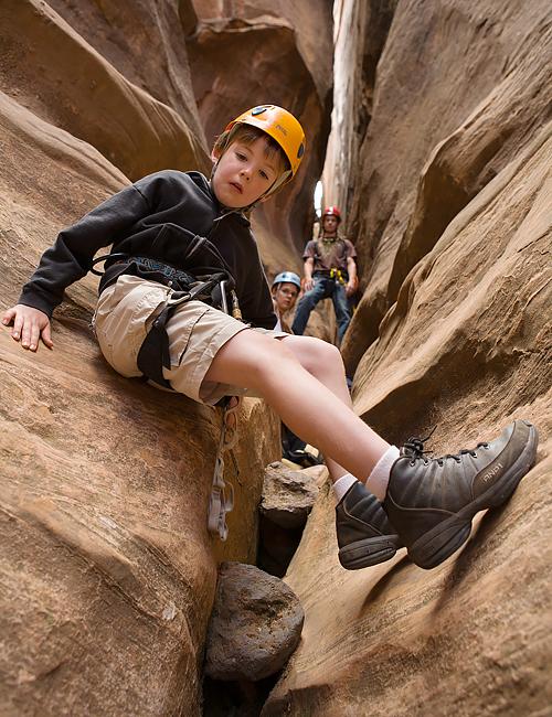 Half Day Canyoneering Trip Lambs Knoll