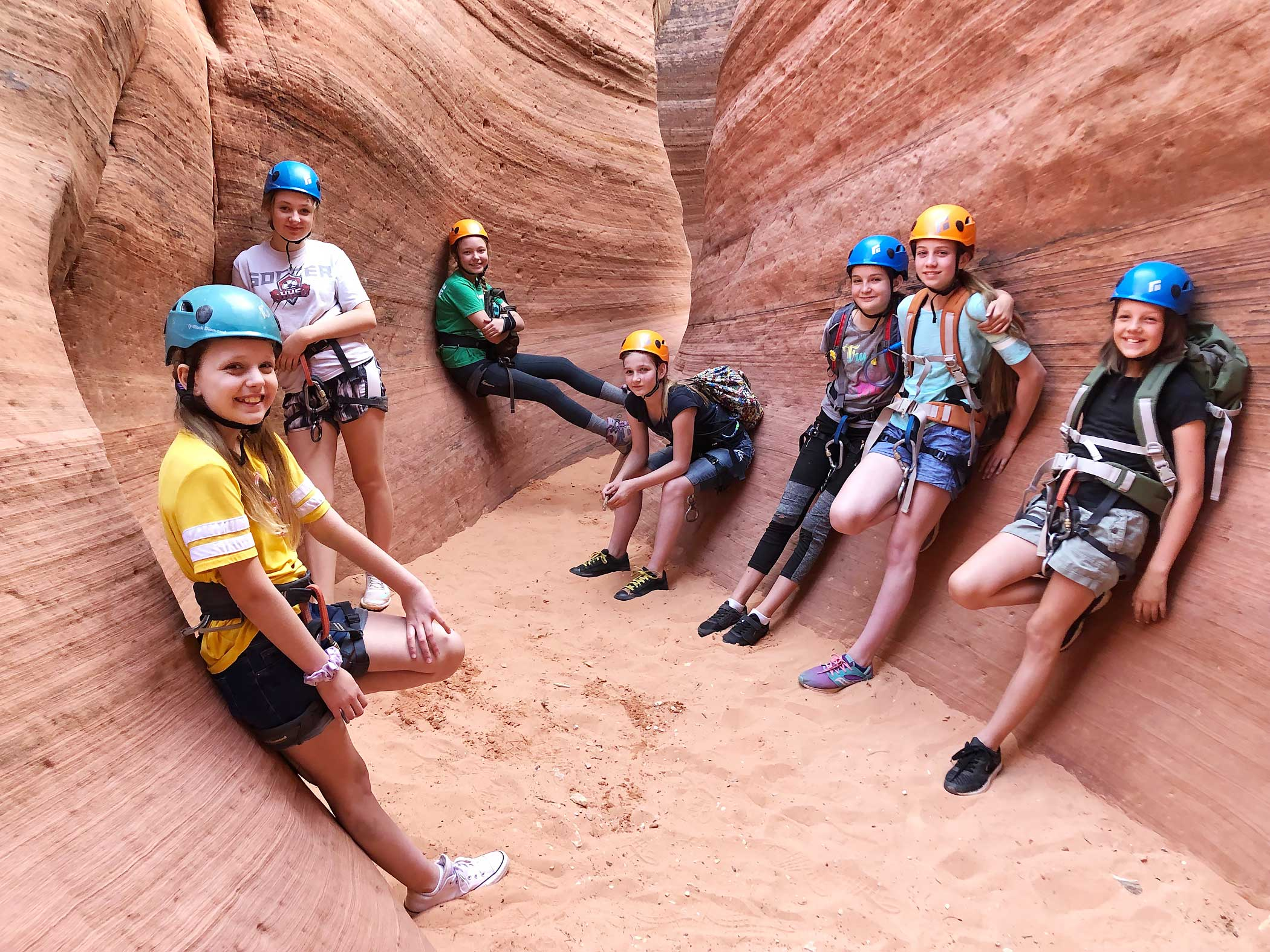 Family Canyoneering in Zion Greater Region